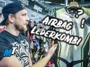 BLITZ Ego Air Airbag Maßkombi, Messe Dortmund 2019 by MotoTech