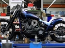 Blue RockZ, Harley Davidson Fat Boy (FLFBS 114) Umbau. Making Of by Thunderbike