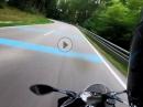 BMW eskaliert auf Rüttelstreifen von Sulzbach über Mainhardt zur Löwensteiner Platte