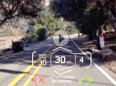 BMW Head-Up Display Helm: Fahrinformationen im Sichtbereich