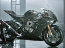 BMW HP4 Race - Carbonrahmen, Carbonfelgen - die exklusivste BMW ever!
