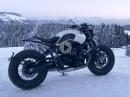 BMW R NineT Bobber gebaut von BAAK Motocyclettes - geiler Umbau