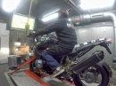 BMW R1200GS mit AC-Schnitzer Auspuffanlage (112,7 PS) Dynorun