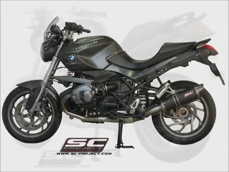 bmw r1200r sc project motorradauspuff sound great. Black Bedroom Furniture Sets. Home Design Ideas