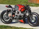 BMW R65 Cafe Racer von Plasma Custom Cycles by Racer TV