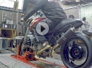 MGM BMW R850R, R850 Caferacer Dyno (77,6PS) Rotzig, frecher Sound