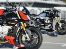 BMW RNineT vs BMW S1000R / Old School vs New School by Triplespeed Headquarters