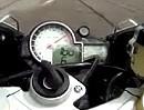 BMW S1000RR (299,34 km/h) Vollgas Motorradtest via MCN