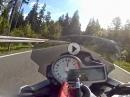 Durchgewärmt bewegt: BMW S1000R im Thüringer Wald - schnell und safe