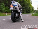 BMW S1000RR Arrow Auspuffanlage + Quickshifter flyby