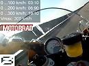BMW S1000RR - Beschleunigung / Highspeed / Bremsweg - MOTORRAD MEGATEST Supersportler Nardo