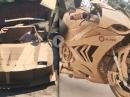 BMW S1000RR, Ducati Panigale, Lamborghini, Ferrari - Eigenbau