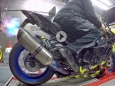 BMW S1000RR HP4, Alpharacing Blipper Dyno Action MGM Technik