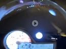 BMW S1000RR im Rohr! Wer mit 300 durch die Röhre knallt, wird beim Einschlag meist nicht alt! Sound geil!