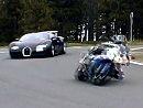 BMW S1000RR vs Bugatti Veyron