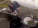 Vollgas BMW S1000RR vs. Honda CBR1000 - Spacken auf der Autobahn