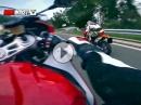 BMW S1000RR vs. KTM Supermoto - Extrem hart am Limit