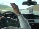 BMW vs. Motorrad - Schwachköpfe auf der Autobahn - brandgefährlich