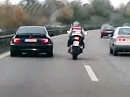 BMW vs. Suzuki GSX-R - Spinner ?!