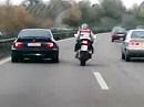 BMW vs. Suzuki GSX-R - Spinner ?!