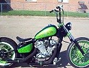 "Bobber ""Pay up Sucker"" Basis Honda Shadow VLX 600 Jesse James Tribute"