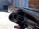 Bodis Q1Slip On Voll Titan auf Triumph Daytona 675