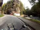 Böhmische Schweiz (Tschechien) mit dem Motorrad