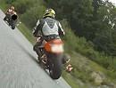 Böse Motorradfahrer...
