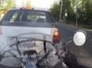 Böser Auffahrunfall - drum: Runter vom Gas