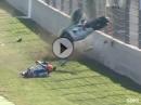 Böser Crash Gino Rea, SSP Magny Cours - Wie geht das?
