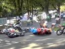 Böser Massen Crash beim Scarborough Gold Cup Race 2013 - Uff :-(