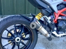 Böses Grollen: Ducati Hypermotard 939 mit Austin Racing Auspuff