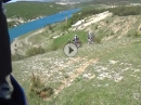 Enduro Tour am Mandek See bei Livno in Bosnien