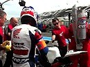 Boxenstopp Bol d'Or 2011 Freies Training - Honda TT Legends