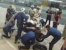 Boxenstop, Pit Stop in Le Mans - Einmal tanken und Reifenwechsel - Fullgaz
