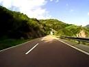 Motorradtour von Bozen nach Unterinn (Italien Südtirol mit Yamaha FZS 1000 Fazer