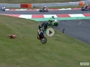 Brands Hatch British Superbike R12/16 (MCE BSB) Race1 Highlights