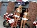 Brands Hatch - Calender Girls Photoshoot 2005 SuperbikeWM