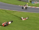Brands Hatch GP British Superbike (BSB) 12/2013 Rennen1 Highlights