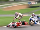 Brands Hatch GP British Superbike (BSB) 12/2013 Rennen2 Highlights