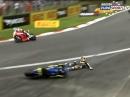 Brands Hatch GP British Superbike (BSB) Race1 Highlights
