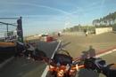 Brandsalbe verteilen KTM SMC 690 R spielt in Zolder Gebückte verhauen