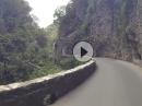 Brasa Schlucht: Hammer Strecke mit Dreizylinder Sound - Amazing