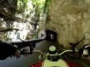 Mega: Brasaschlucht und alte Bergrennstrecke nach Limone über Pieve und Villa