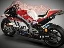Brembo MotoGP Bremstechnik an der Ducati Desmosedici GP - Top