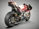 Brembo MotoGP 2017 Bremstechnik an Desmosedici GP17 - Top