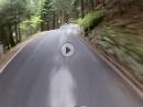 Breno (Astero) zum Passo Croce Domini: Urlaub mit Freunden, Moto vom Feinsten