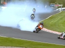 Oulton Park British Supersport (BSS) 03/15 Sprint Race Highlights