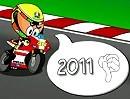 Brünn (Brno) 2011 Motorrad Comic MotoGP von Los Minibikers - Super