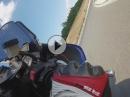 Brünn Gopro track days - Yamaha R6
